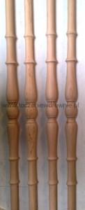 tralka drewniana